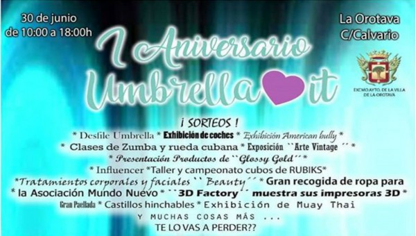 Primer aniversario Umbrella